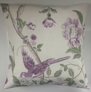 Cushion Cover in Laura Ashley Summer Palace Grape 16""